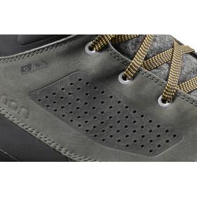 Salomon Utility Winter CS WP Shoes Herr beluga/black/green sulphur